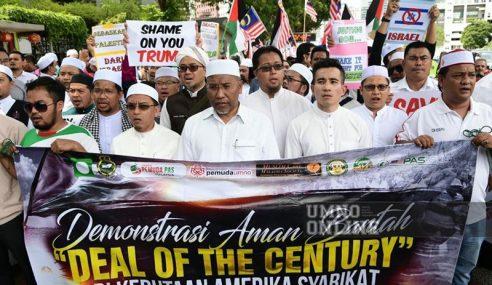 Umat Islam Berarak Tolak 'Deal Of The Century'