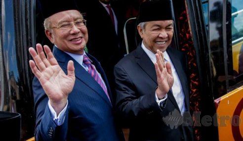 Ahli Parlimen BN Masuk Istana Negara