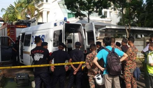 Polis Kesan Individu Letak 3 Kotak Misteri Di Konsulat China