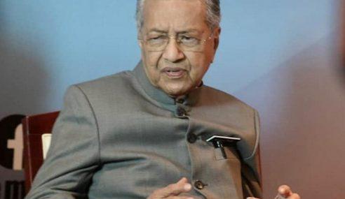 Mahathir Kata Minta 'Offset' Bukan Rasuah