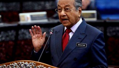 Dewan Rakyat Boleh Tentukan Mahathir Terus Jadi PM Atau Tak