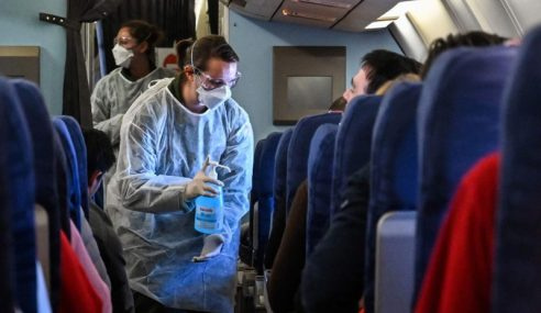 Coronavirus: Udara Dalam Pesawat Melalui Tapisan HEPA
