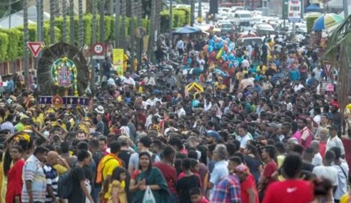 Elak Provokasi Ketika Perarakan Sempena Thaipusam