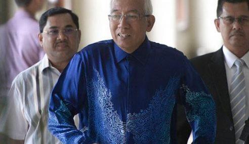 Mahdzir Didakwa Buat Perjanjian Dengan SPRM Elak Dituduh