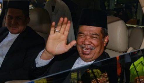 Pemimpin AMANAH Masuk Menghadap Agong