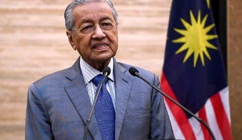 Mahathir Mahu Bentuk Kerajaan Tanpa Parti Politik