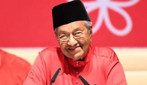 Mahathir Terima Semula Jawatan Pengerusi Bersatu