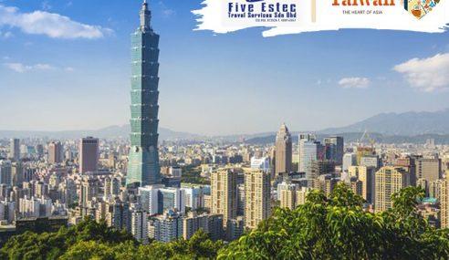 Ke Taiwan Dengan Serendah RM2,000