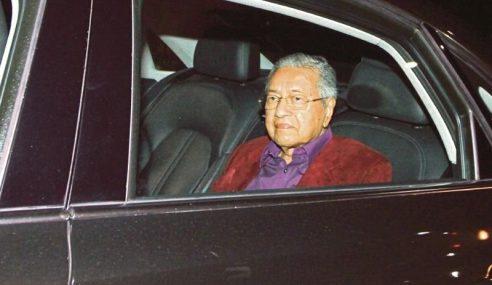 Mahathir Pengerusikan Mesyuarat Majlis Presiden PH