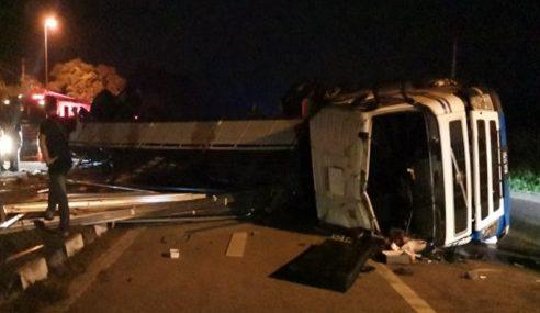 Pemandu Treler Terbabit Kemalangan Direman 4 Hari
