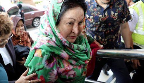 Rosmah Hadir Ke Mahkamah Bagi Perbicaraan