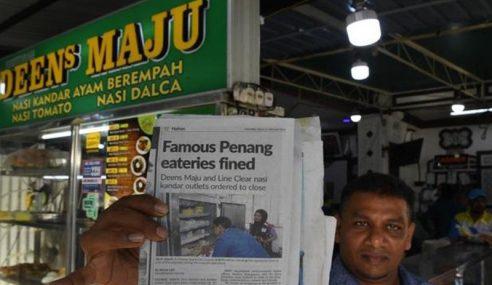 Restoran Nasi Kandar Terkenal Nafi Diarah Tutup