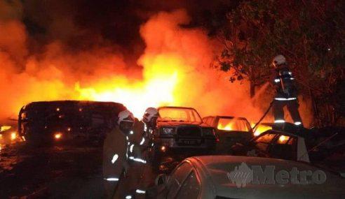 30 Kereta Musnah, Depoh Simpanan DBKL Terbakar