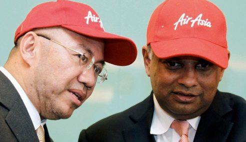 Kamarudin, Tony Fernandes Lepas Jawatan Eksekutif AirAsia