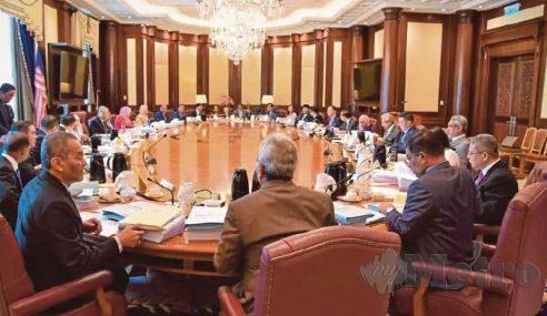 Jawatan Semua Menteri Kabinet Terbatal
