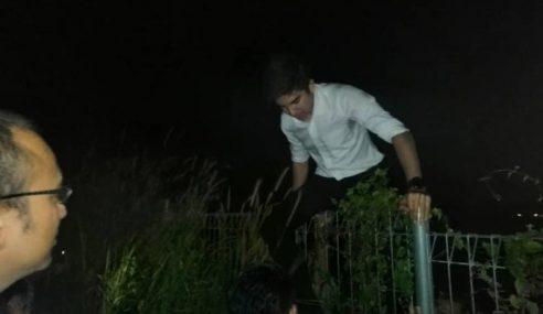 Kes Panjat Pagar: Polis Ambil Keterangan Syed Saddiq
