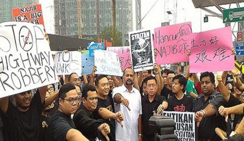 Siapa Hasut Rakyat Undi PH Untuk Hapuskan Tol? – Najib
