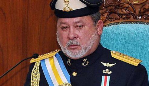 Sultan Johor Ucap Takziah Keluarga Mangsa Kebakaran