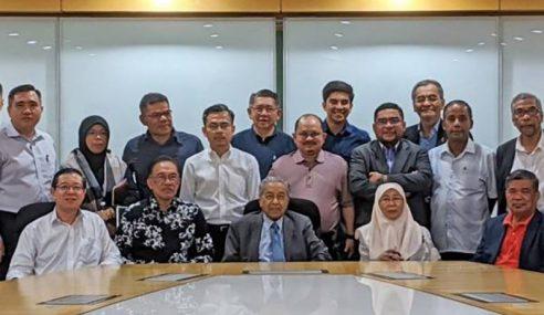 Mahathir Senaraikan 114 Sokongan Ahli Parlimen