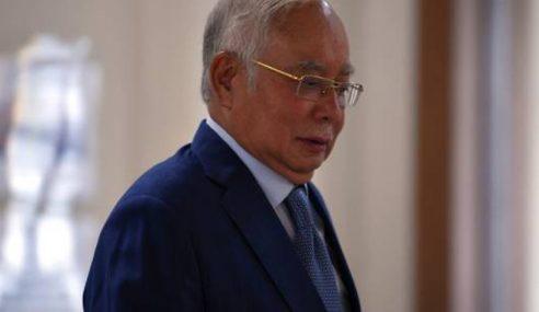 Najib Tenang Hadir Bicara Kes SRC Hari Ke-85