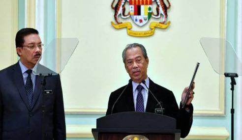 Muhyiddin Umum Senarai Kabinet, Lantik 4 Menteri Kanan
