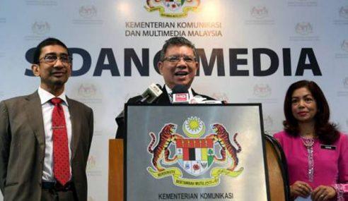 Saifuddin Dukung Kebebasan Media, Tak Kompromi Berita Palsu