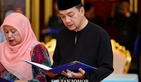 Cicit Onn Jaafar Antara Exco Johor