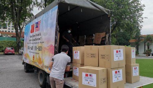 Covid-19: China Hantar Bantuan Kepada Malaysia