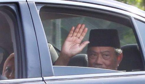 Muhyiddin Tiba Di Istana Negara, Angkat Sumpah PM Ke-8