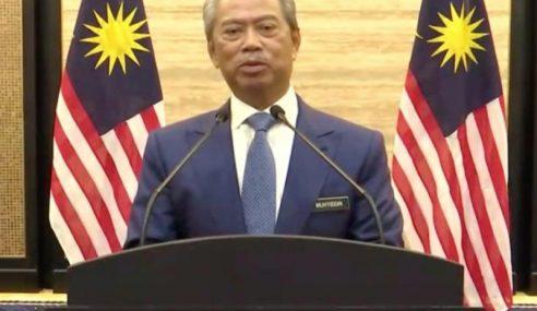 Teks Penuh Ucapan PM, Tan Sri Muhyiddin Yassin