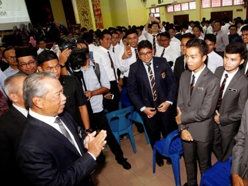 Muhyiddin Komited Jadikan Sistem Pendidikan Negara Terbaik