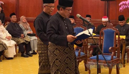 Sulaiman Ketua Menteri Melaka Baharu