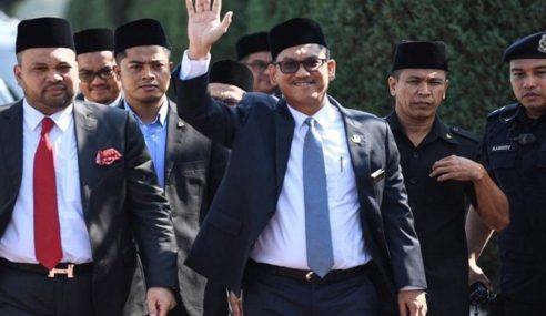 Sultan Nazrin Terima Peletakan Jawatan Ahmad Faizal