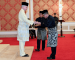Ahmad Faizal Angkat Sumpah MB Perak Ke-13