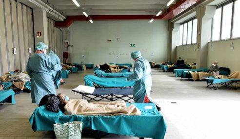 Itali Rekod Kes Kematian 475 Orang Sehari