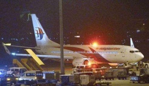 Pesawat Khas Bawa Balik Rakyat Malaysia Terkandas