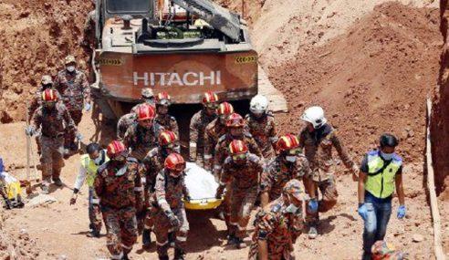 Mayat 2 Mangsa Tertimbus Di Kaki Gunung Jerai Ditemui