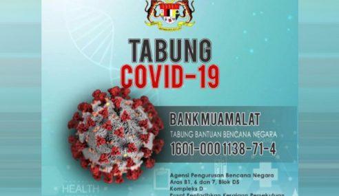 Potongan Cukai Untuk Sumbangan, Derma Tabung COVID-19