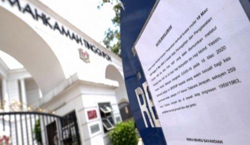 Mahkamah Ditutup Susulan Lanjutan Tempoh PKP