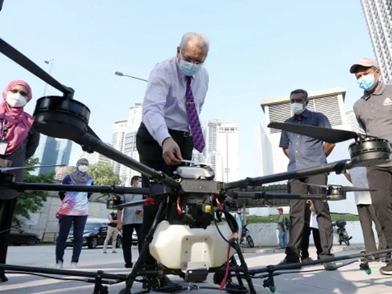DBKL Kaji Kesesuaian Proses Nyah Cemar Guna Dron