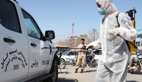 Afghanistan Sahkan Kematian Pertama Covid-19