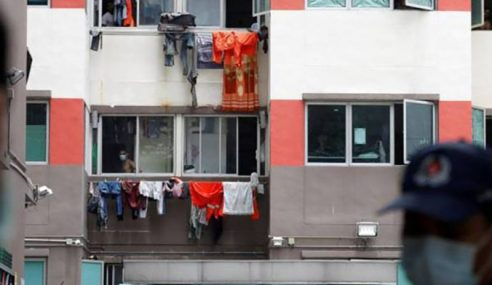 Singapura Warta 4 Asrama Pekerja Asing Kawasan Pengasingan