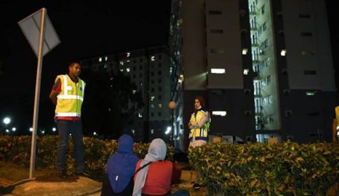 Polis Bersengkang Mata Pastikan Masyarakat Patuh PKP