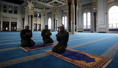 Masjid, Surau Akan Dibuka Jika Garis Panduan Diluluskan