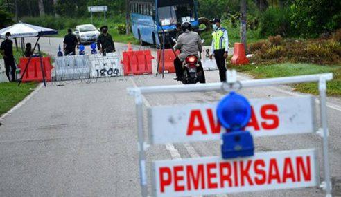 PKP: Polis Tutup 8 Jalan Di Kajang