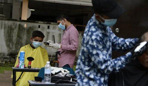 Bincang Dulu Operasi Pasar Malam, Kedai Gunting Rambut