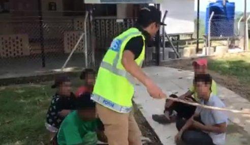 Polis Sebat Remaja Ingkar PKP Akan Diambil Tindakan