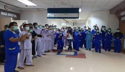 41 Pelajar Tahfiz Sembuh, Discaj Dari HCTM
