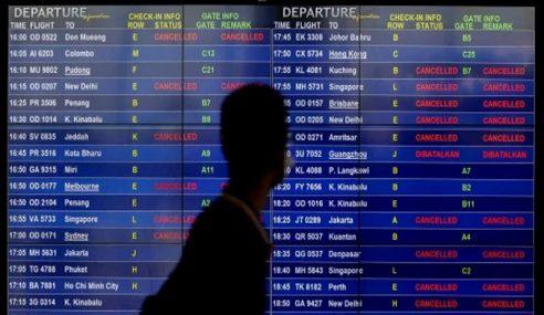 COVID-19: Syarikat Penerbangan Dijangka Hilang RM1.36 Trilion