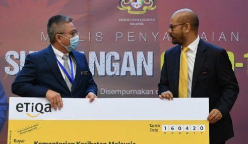 Tabung Covid-19 terima sumbangan hampir RM13 juta